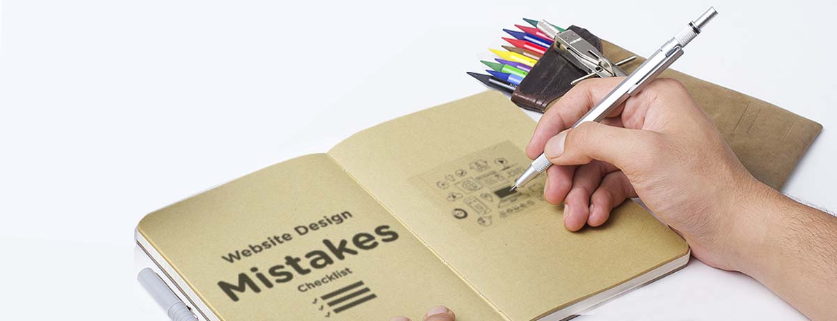 Common Web Design Mistakes