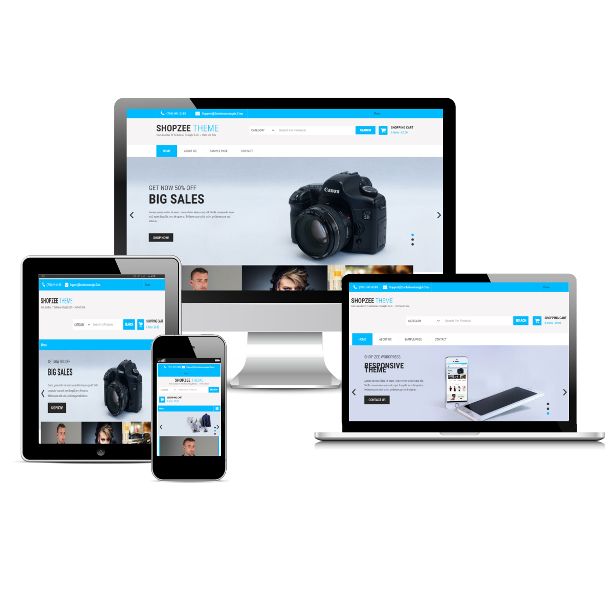 Charlotte Web Design Package for eCommerce and Online Shopping