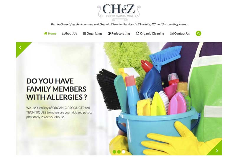 Web Design Project: ChezCleaning